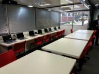 Aula móvil educación