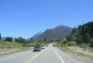 Autos en Ruta 40