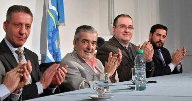 Gobernador de Chubut Mario Das Neves