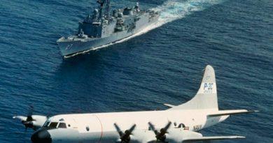 P-3 orion. Es el modelo de avión que participará de los ejercicios. Foto:Cedoc