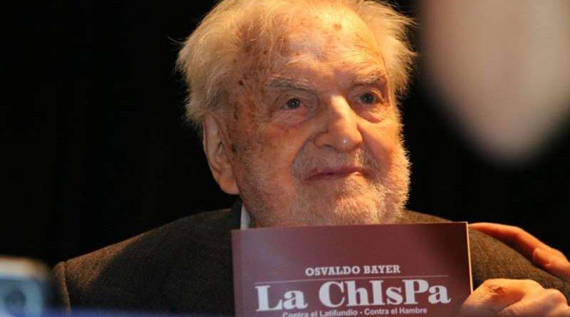 """En Esquel el historiador Bruno Nápoli presentará """"La Chispa"""""""