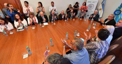 Se firmó convenio para la creación de la Mesa Interpoderes para erradicar la violencia familiar y de género