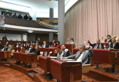 La legislatura repudio la intervención del PJ Nacional