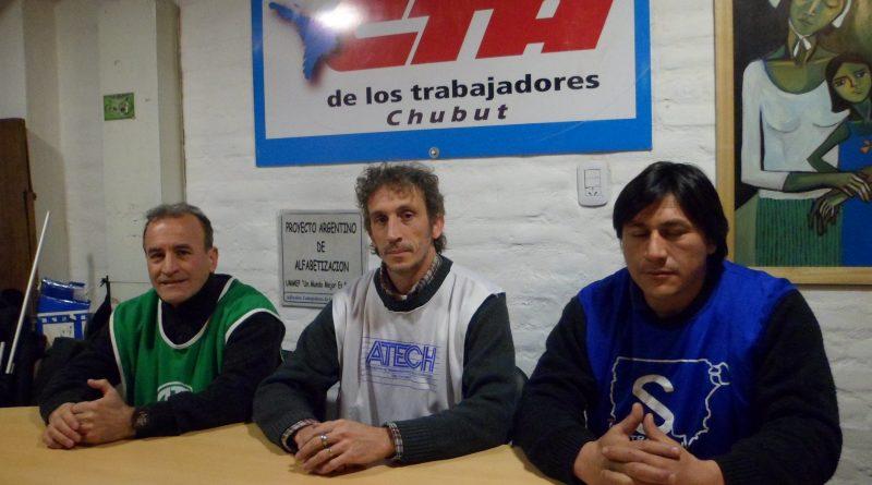 En el marco del paro nacional en Esquel realizan acto y movilización