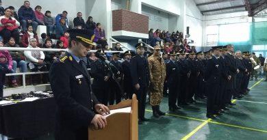 Esquel: Se realizó acto de ascenso del personal policial