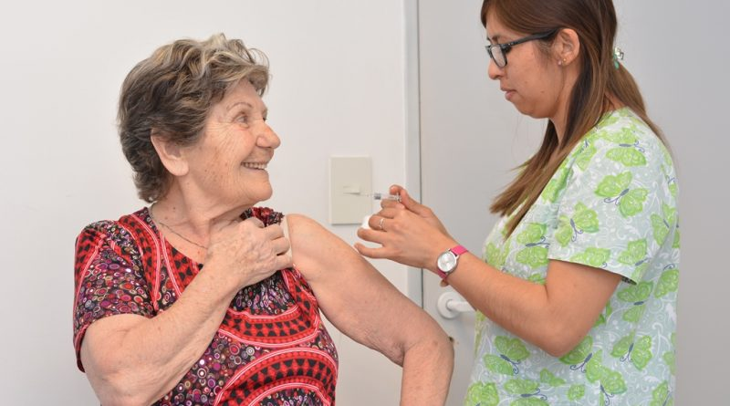 Chubut superó las 48.000 personas vacunadas contra la Gripe