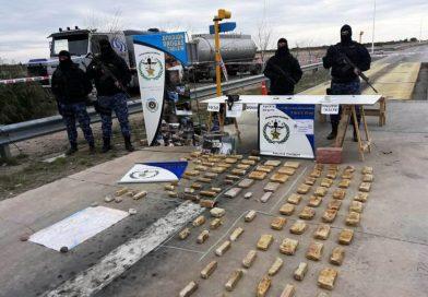 Fronteras Peligrosas: La Policía del Chubut detuvo secuestró 42 kilos de drogas en el operativo