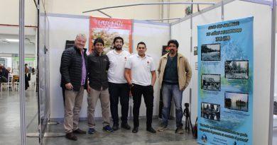 """""""Fue una gran oportunidad para Alto Río Senguer, la realización de la Expo Turismo"""", expresó Miguel López Gutiérrez."""
