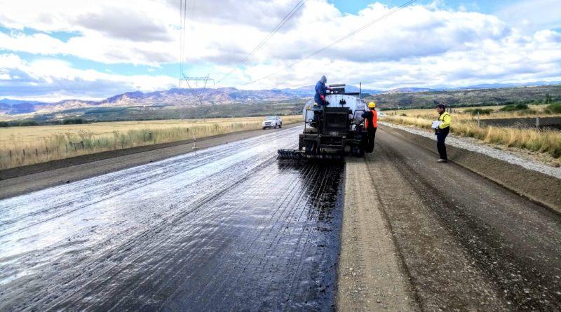 Ruta Nº 259: Avanza con ritmo un tramo de la pavimentación