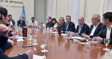 Arcioni en reunión de gabinete trató el pedido de traspaso de tierras de Nación a la Provincia
