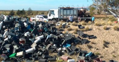 Denunciará a pesqueras por arrojar basura en la Península Valdés