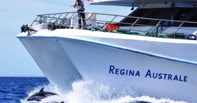El Ministro de Turismo de la Provincia, el Regina Australe continuará en julio en Puerto Madryn