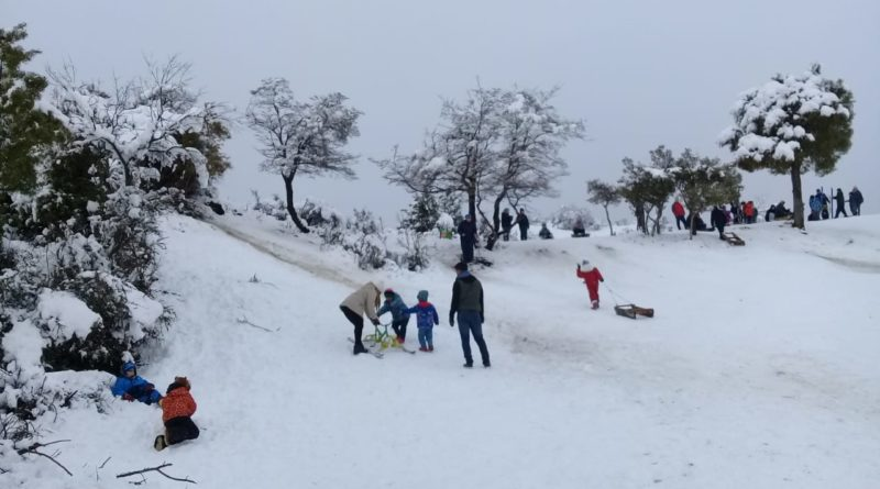 Vivir el invierno en Sierra Colorada