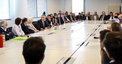 Alberto Fernández encabeza la primera reunión de trabajo del Consejo Federal Argentina Contra el Hambre