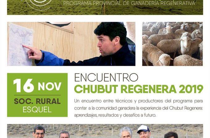 "Esquel: Provincia prepara el ""Encuentro Chubut Regenera 2019"""