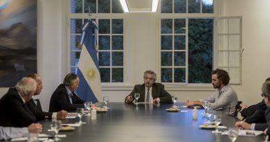 El Presidente se reunió en Olivos con empresarios de la Unión Industrial Argentina