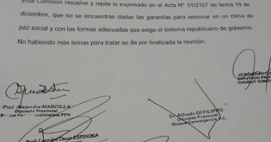 Legislatura: Se suspendió la sesión extraordinaria del martes