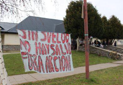 Trabajadores de la salud se movilizan este miércoles en Esquel
