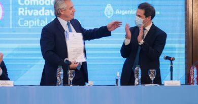 Alberto Fernández: para nosotros es importante darles respuesta a todos los argentinos y argentinas