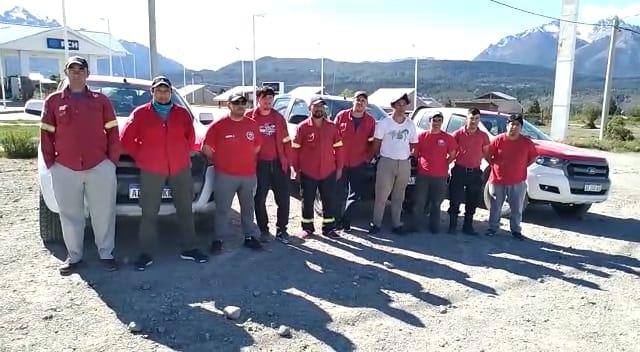 Chubut envió Brigadistas para controlar un incendio en La Rioja